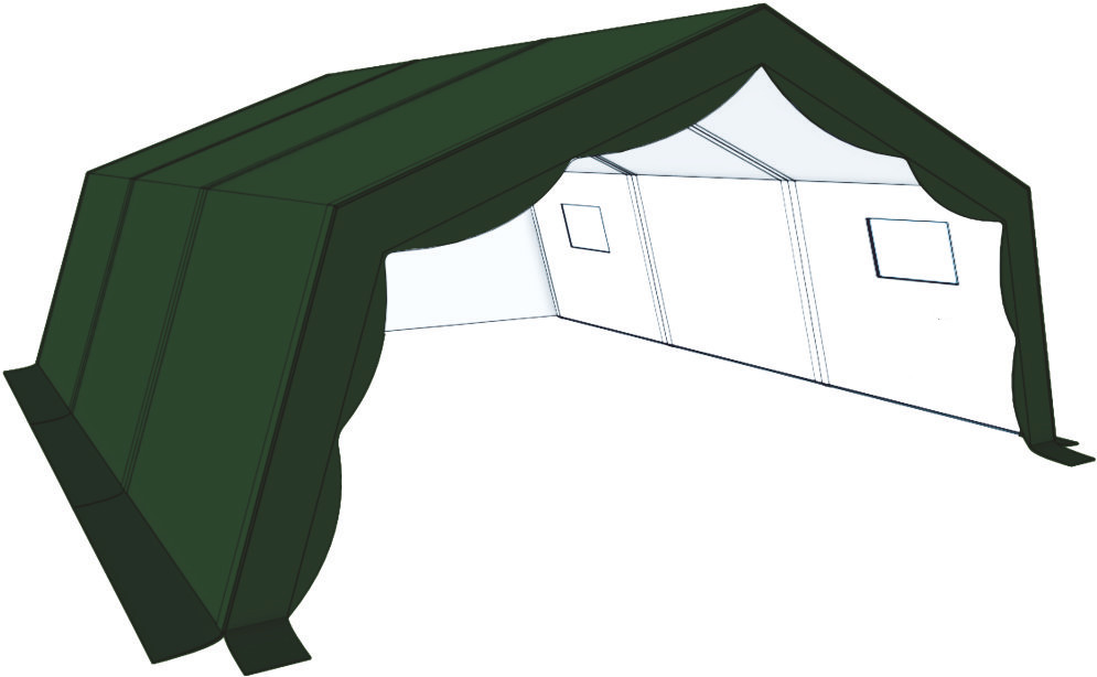 Tortuga Covid Test Tent